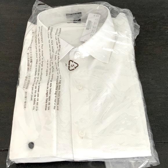 J Crew Ludlow men's tuxedo shirt new with tags